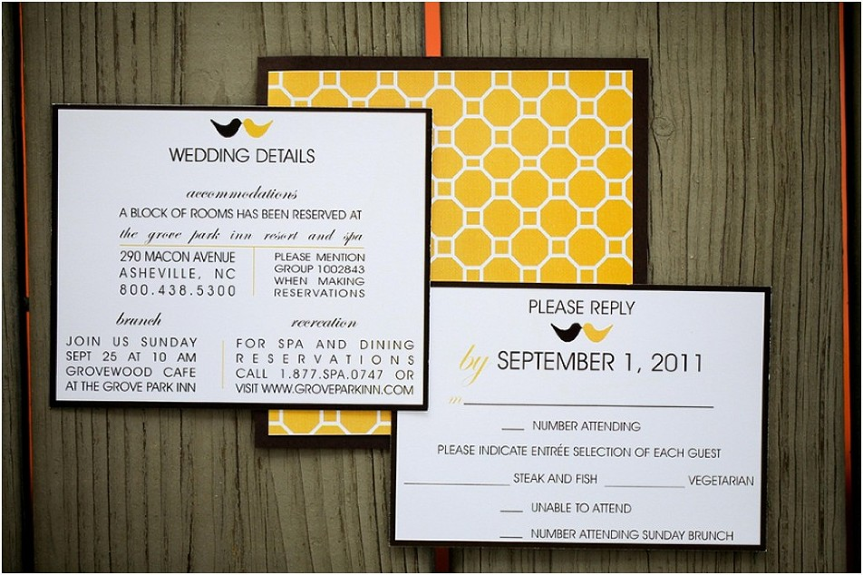 asheville_wedding_planners_yellow_invitations